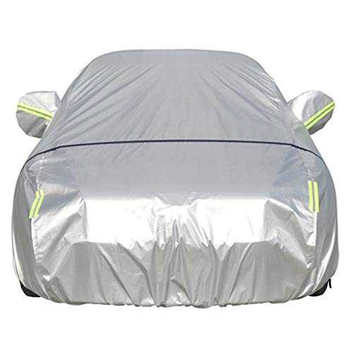 CAOYU Car Hood Car Clothes Car Cover Oxford Cloth Sunscreen Insulation Rain Cover Cover (Color: A, Size: Toyota-Prius)