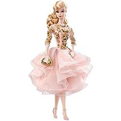 Mattel DWF55 muñeca - Muñecas (Oro, Rosa, Femenino, Chica, Barbie)