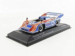 Minichamps 437736504 - Coche en Miniatura de colección, Color Azul y Naranja