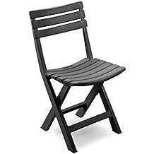 Sedie In Plastica Pieghevoli.Amazon It Sedie Pieghevoli Plastica