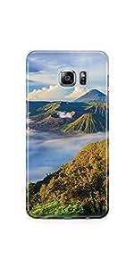 Casenation Mountain View Samsung Galaxy S6 Edge Plus Glossy Case