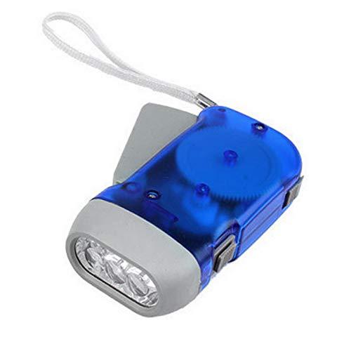 JVSISM Handpresse Led Taschenlampe Laterne Dynamo Taschenlampe Led Notstrom Dynamo Taschenlampe Selbstaufladende Hand Licht