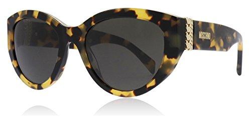 Moschino Sonnenbrillen MOS012/S BLONDE HAVANA/GREY Damenbrillen