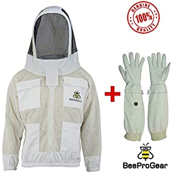 FOREST BEEKEEPING SUPPLY Vestes Professionnels Apiculteur Premium 2Xl