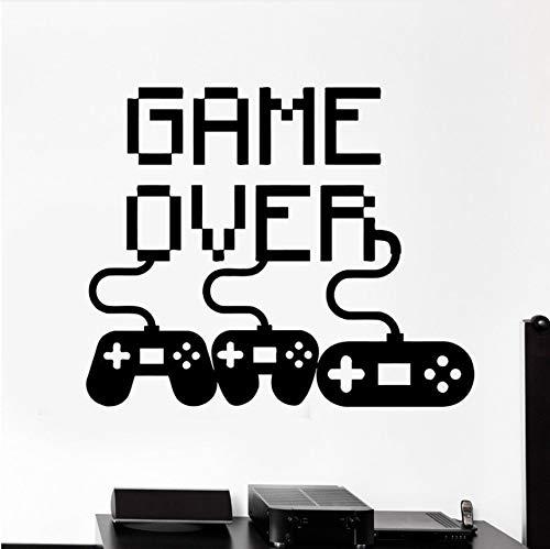 Wuyyii 49X58 Cm Videospiel Aufkleber Spielen Aufkleber Gaming Poster Gamer Vinyl Wandtattoos Dekor Wandbild