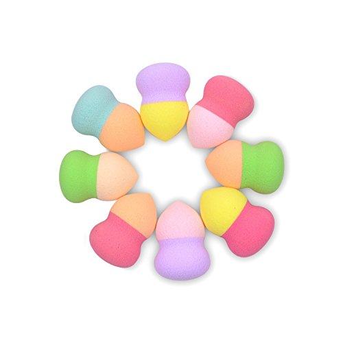 Minifamily® Allient deux Couleur Taille mini Beauty Flawless Makeup Blender Comestic éponge Puff (couleur aléatoire)