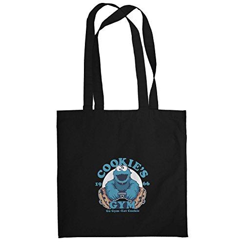 Texlab–Cookie s Gym–sacchetto di stoffa Nero