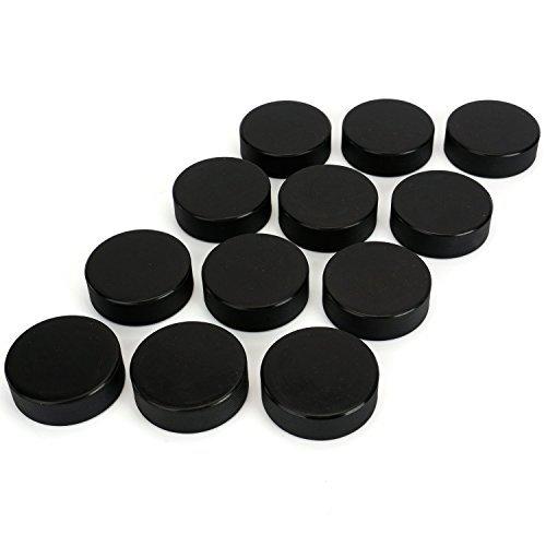 Tebery Eishockey Puck Classic, 12er-Pack