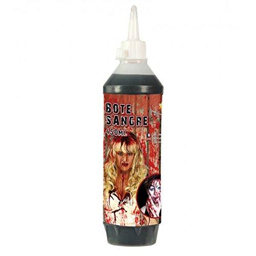 Guirca - sangue liquido finto in bottiglia da 450 ml … adulti, bambini, rosso, 15345