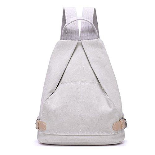 Preisvergleich Produktbild BUKUANG Frische College Wind Handtasche Leinwand Schulranzen Urlaubsreisen Multifunktions-Schulterhandtaschen,Beige