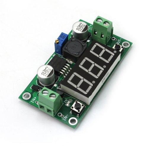 LM2596 Modul DC Einstellbar Step Down Schaltregler Power Supply LED Voltmeter Schaltregler