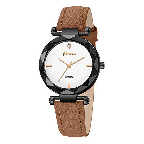 n Slim Minimalistisch mit Edelstahl Mesh Armband Mode Kleid Elegant Beiläufig Quarzuhr für Damen ()