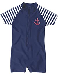 Playshoes Boy's Maritime UV Swimsuit