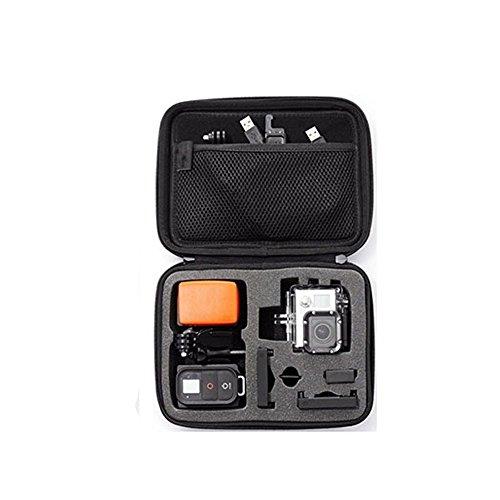 Docooler TL-14 Custodia per Action Cam Portatile Antiurto custodia per Gopro di Dimensioni Opzionali per Borsa per Action Cam nera per fotocamera sportiva (Medium)