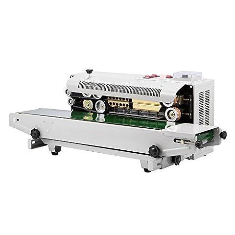 Happybuy Continuous Sealing Machine FR-900 Auto Sealing Sealer Machine Horizontal Sealing Sealer for PVC Membrane Bag Film (FR 900)