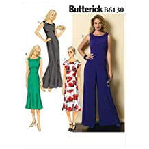 Butterick Patterns 6130 A5 - Cartamodello per vestito e felpa 0c87d99fd149
