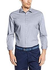 Seidensticker Herren Business Hemd Modern Kent Patch4