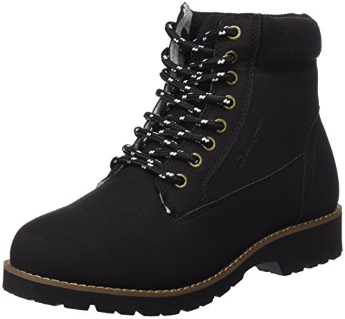 Champion Herren High Cut Shoe Upstate Laufschuhe, Schwarz (Nbk), 44 EU (High-cut Herren)