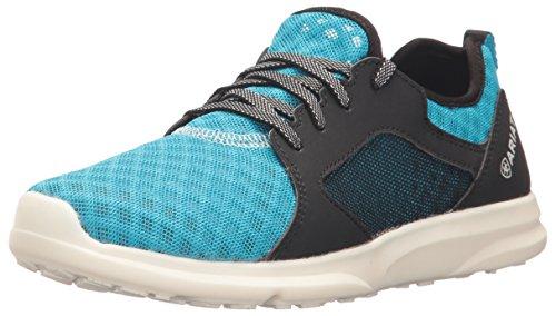 Kids' Fuse Athletic Shoe, Highlighter Blue Mesh, 2 M US Little Kid