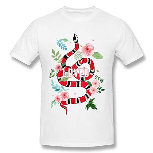 6033bb80326b Ytwww123 Vintage Coral Snake Loved Halloween Team Men's Basic Short Sleeve T -Shirt True &
