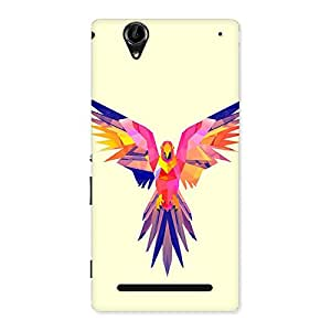 NEO WORLD Bird Abstract Back Case Cover for Sony Xperia T2