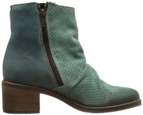 Fly London Aika, Chaussures de ville femme Vert (Pal Green Indigo 001)