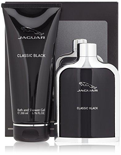 Jaguar Classic Black Bath Set Eau De Toilette + SG, 1er Pack (1 x 300 ml)