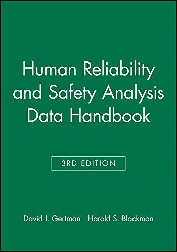 Human Reliability and Safety Analysis Data Handbook by David I. Gertman (1993-10-30)