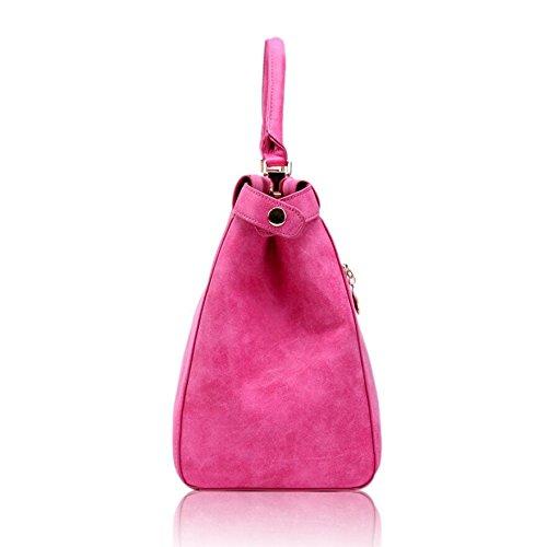 Z&N Elegant Art und Weise Retro- scheuern Handtasche Schulterbeutel diagonales Paket beiläufiger Beutel im Freienspielraumbeutel Arbeit Spiel Geschäft beweglich D