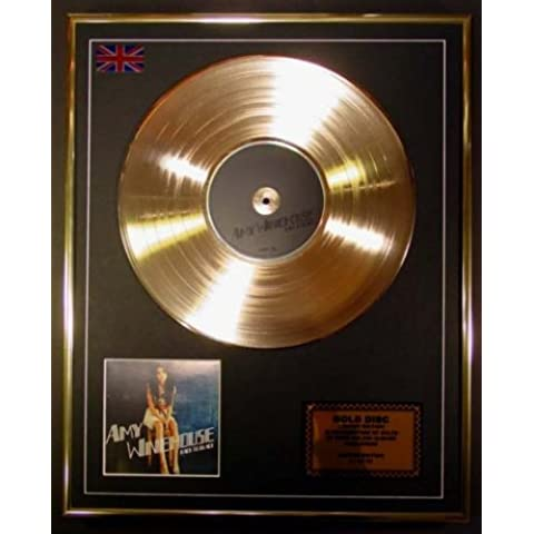 Amy Winehouse Cd Disco de Oro Disco Edicion Limitada Back To Black