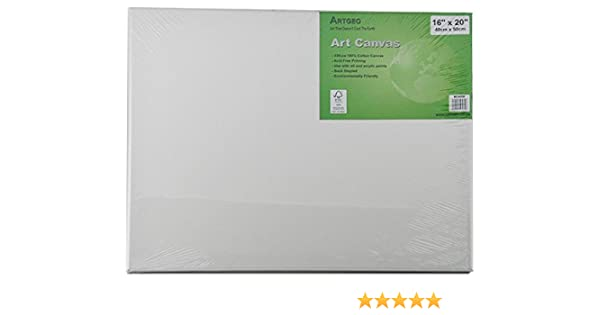 6 Stretched Canvases Artist Canvas 16x20 Xtradefactory Gmbh