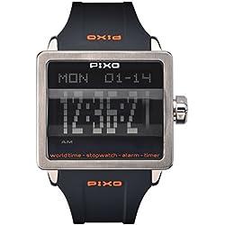 PX-1 STEEL, Digital Flip Watch