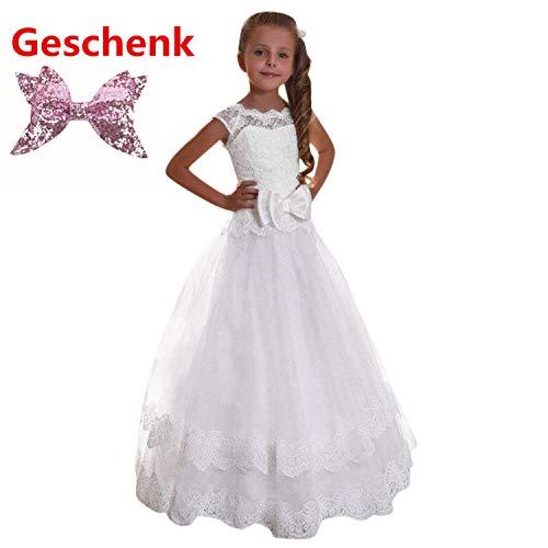 Loveso♥ Mädchen Prinzessin Kleid Mädchen Prinzessin Kinderkleid Partykleid Tutu Tüll Kleid Party Brautkleid ()