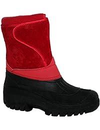 Regenfeste, stabile und warme Damenstiefel zum Reiten und für den Stall, geeignet für Regen, Schnee und Winter