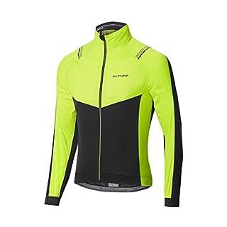 Altura Herren Podium Elite Waterproof Jacke, schwarz/gelb, XXL