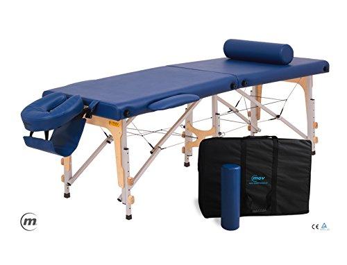 Premium ultra alu–leggero pieghevole portatile per massaggi estetista tattoo terapia divano letto con free cover e borsa per trasporto–10colori