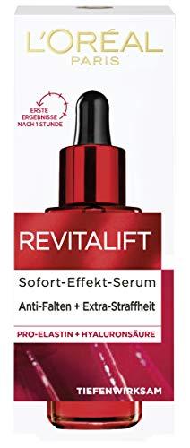 L'Oréal Paris Revitalift Glättendes Feuchtigkeits-Serum, mit Pro-Elastin, Hyaluronsäure und dem Anti-Falten-Aktivstoff Adenosin, 30 ml