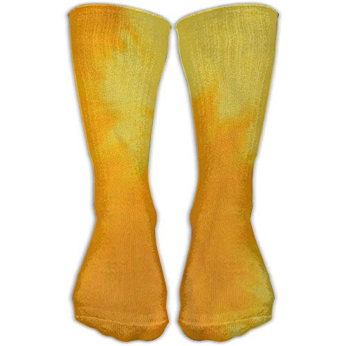 ouyjian Casual Adulti Calcio Calcio Sport Calze Classici Crew Tie Dye Pace all Season Girls High Long Socks