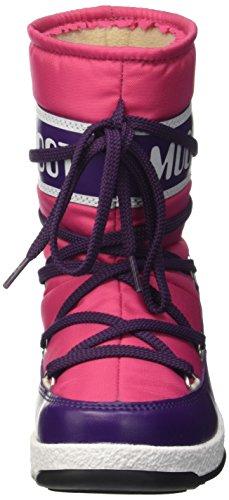 8c95a25a52e1 Moon Boot Unisex-Kinder W.E. Sport Mid Jr Outdoor- Sportschuhe Blu  (Bouganville ...