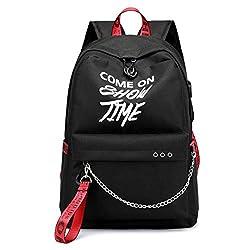 Multifunctional Waterproof Denim + Pvc Layer Laptop Backpack