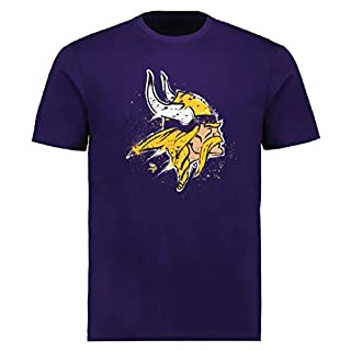 Fanatics Splatter T-Shirt - NFL Minnesota Vikings lila - XL