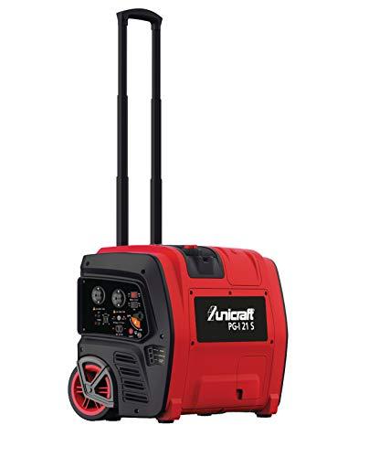 Stürmer Unicraft 6706210 Inverter-Stromerzeuger PG-I 21 S (Laufzeit bis zu 8 Stunden, App-Steuerung, für Heim, Camping usw.)