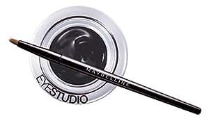 Maybelline New York Lasting Drama Gel Liner Eyeliner Professionale, Black Chrome