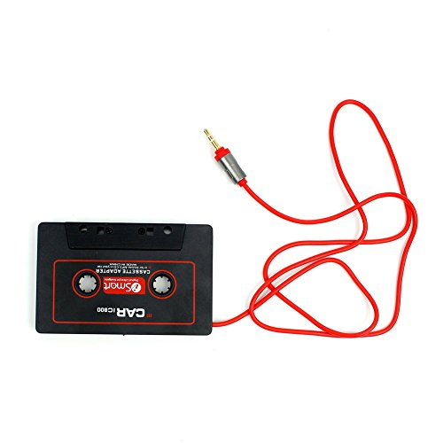 Interesting® Car Stereo-Tape Cassettenadapter für iPod iPhone MP3 AUX CD Player 3,5 mm