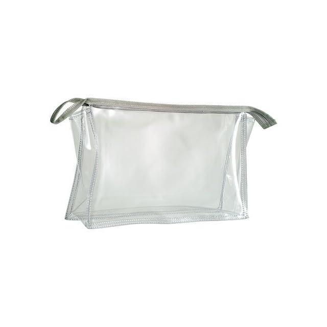 HALFAR - trousse de toilette maquillage pochette zippée transparente - 1800177