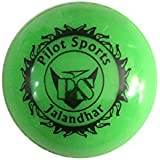 PS Pilot Wind/Hollow Ball For Cricket Practise, Green Color( Pack Of 2)
