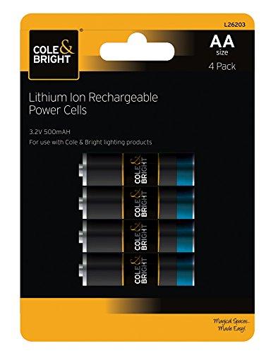 gardman-l26203-aa-wiederaufladbare-lithiumionen-akkus-32-v-500-mah-zink-schwarz