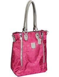 Poodlebags Club - Attrazione - Milano - 3CL0313MILAP, Borsa a spalla donna 32x42x18 cm (L x A x P), Rosa (Pink (pink)), 32x42x18 cm (L x A x P)