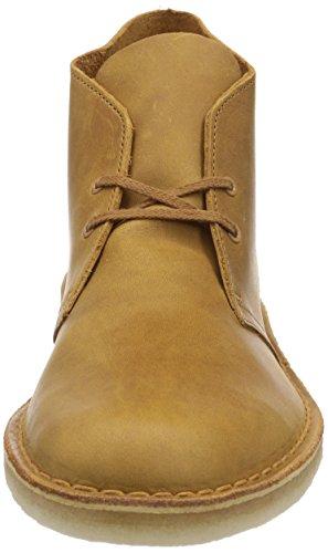 Clarks Originals - Desert Boot - Bottes - Homme Jaune (Mustard)
