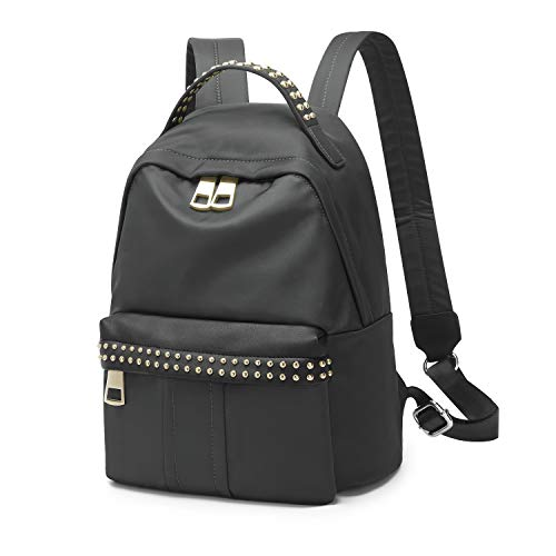 Wind Took Damen Stilvolle Rucksack Nylon Schultaschen Schultertaschen Schulrucksack für Schule, Reise, Arbeit